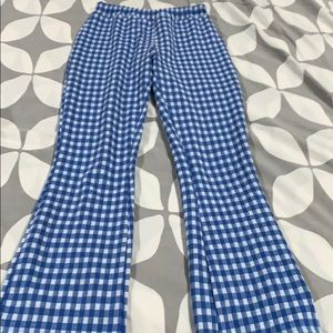Urban Outfitters checkered cropped pants